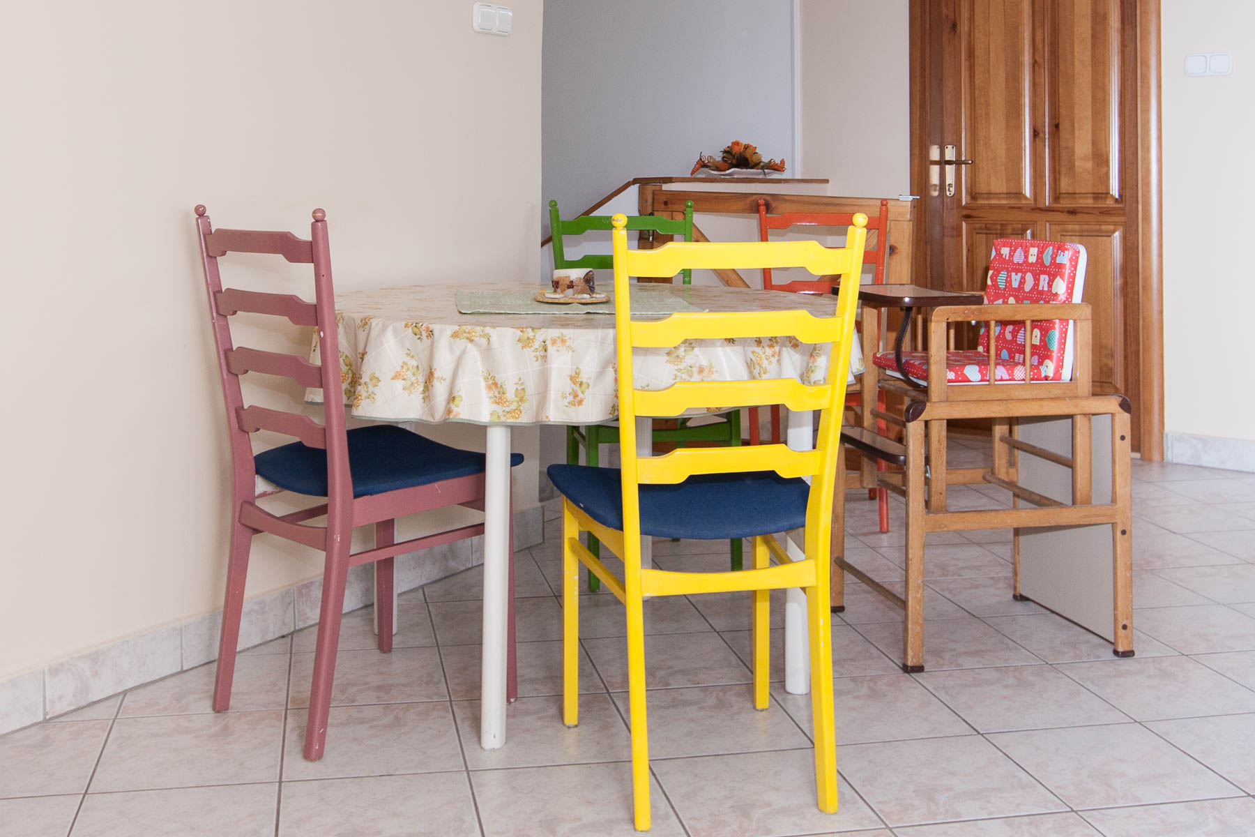 Table with chairs