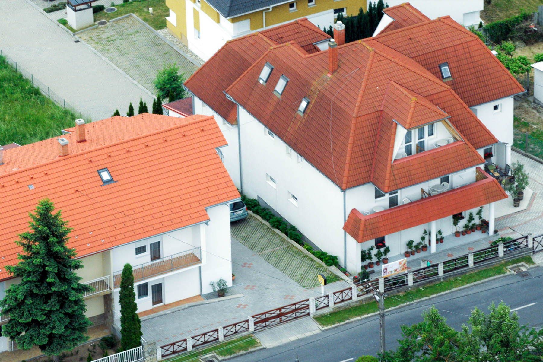 House from a bird's eye view